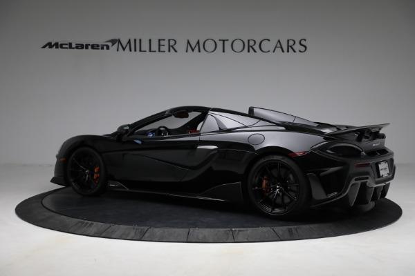 Used 2020 McLaren 600LT Spider for sale Call for price at Alfa Romeo of Westport in Westport CT 06880 4