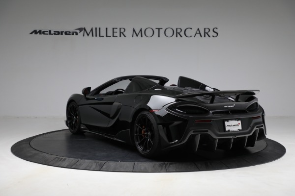 Used 2020 McLaren 600LT Spider for sale Call for price at Alfa Romeo of Westport in Westport CT 06880 5
