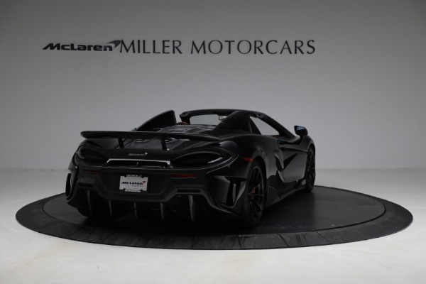 Used 2020 McLaren 600LT Spider for sale Call for price at Alfa Romeo of Westport in Westport CT 06880 7
