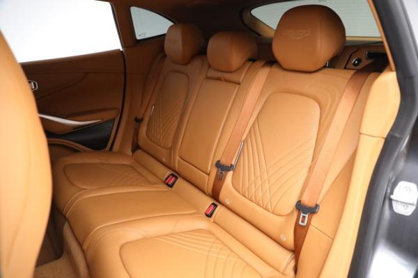 New 2021 Aston Martin DBX for sale $203,886 at Alfa Romeo of Westport in Westport CT 06880 17