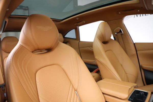 New 2021 Aston Martin DBX for sale $203,886 at Alfa Romeo of Westport in Westport CT 06880 18
