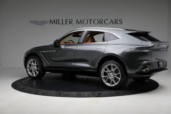 New 2021 Aston Martin DBX for sale $203,886 at Alfa Romeo of Westport in Westport CT 06880 3