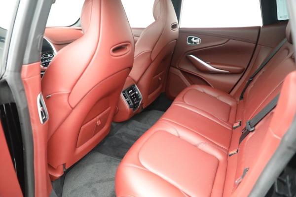 New 2021 Aston Martin DBX for sale $200,686 at Alfa Romeo of Westport in Westport CT 06880 17