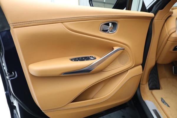 New 2021 Aston Martin DBX for sale $209,586 at Alfa Romeo of Westport in Westport CT 06880 16