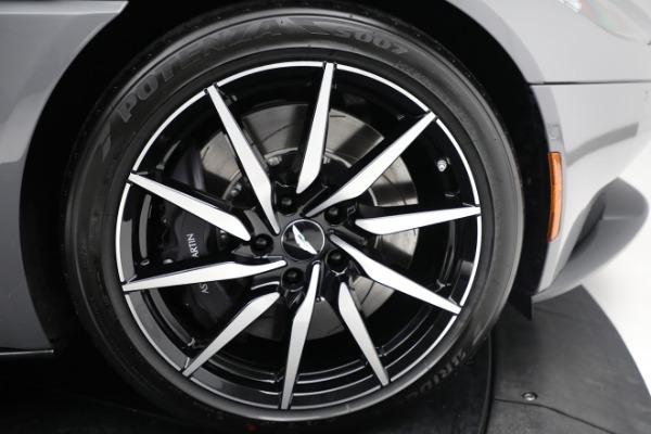 New 2021 Aston Martin DB11 V8 for sale $235,986 at Alfa Romeo of Westport in Westport CT 06880 24