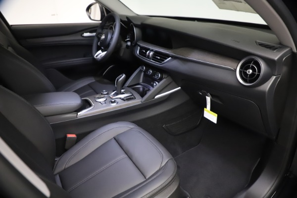 New 2021 Alfa Romeo Stelvio Ti for sale $51,955 at Alfa Romeo of Westport in Westport CT 06880 19
