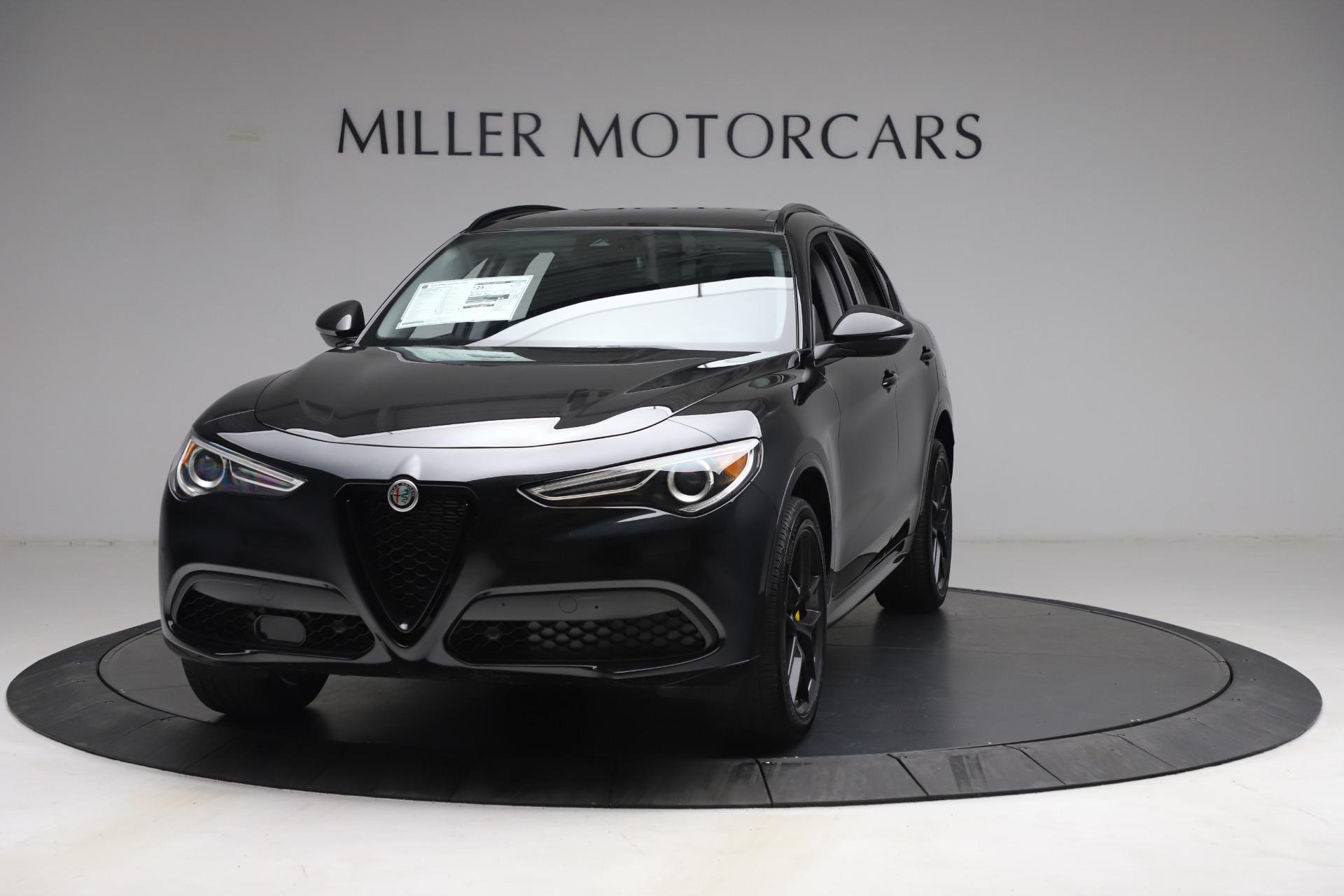 New 2021 Alfa Romeo Stelvio Ti for sale $51,955 at Alfa Romeo of Westport in Westport CT 06880 1