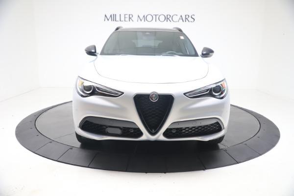New 2021 Alfa Romeo Stelvio Ti Sport Q4 for sale $57,200 at Alfa Romeo of Westport in Westport CT 06880 12