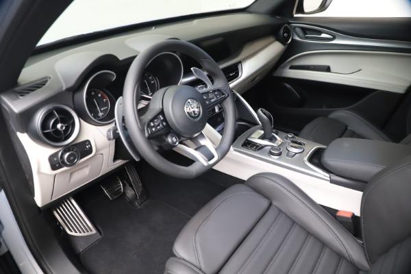 New 2021 Alfa Romeo Stelvio Ti Sport Q4 for sale $57,200 at Alfa Romeo of Westport in Westport CT 06880 13