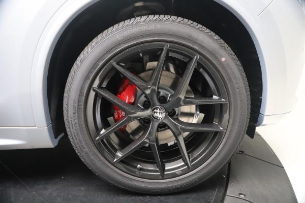 New 2021 Alfa Romeo Stelvio Ti Sport Q4 for sale $57,200 at Alfa Romeo of Westport in Westport CT 06880 23