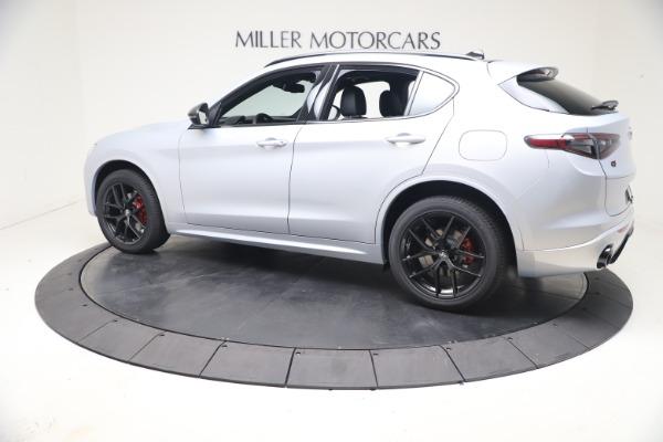 New 2021 Alfa Romeo Stelvio Ti Sport Q4 for sale $57,200 at Alfa Romeo of Westport in Westport CT 06880 4