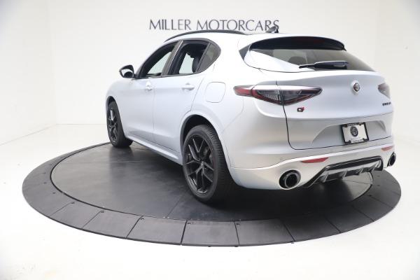 New 2021 Alfa Romeo Stelvio Ti Sport Q4 for sale $57,200 at Alfa Romeo of Westport in Westport CT 06880 5