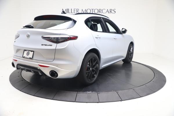 New 2021 Alfa Romeo Stelvio Ti Sport Q4 for sale $57,200 at Alfa Romeo of Westport in Westport CT 06880 7