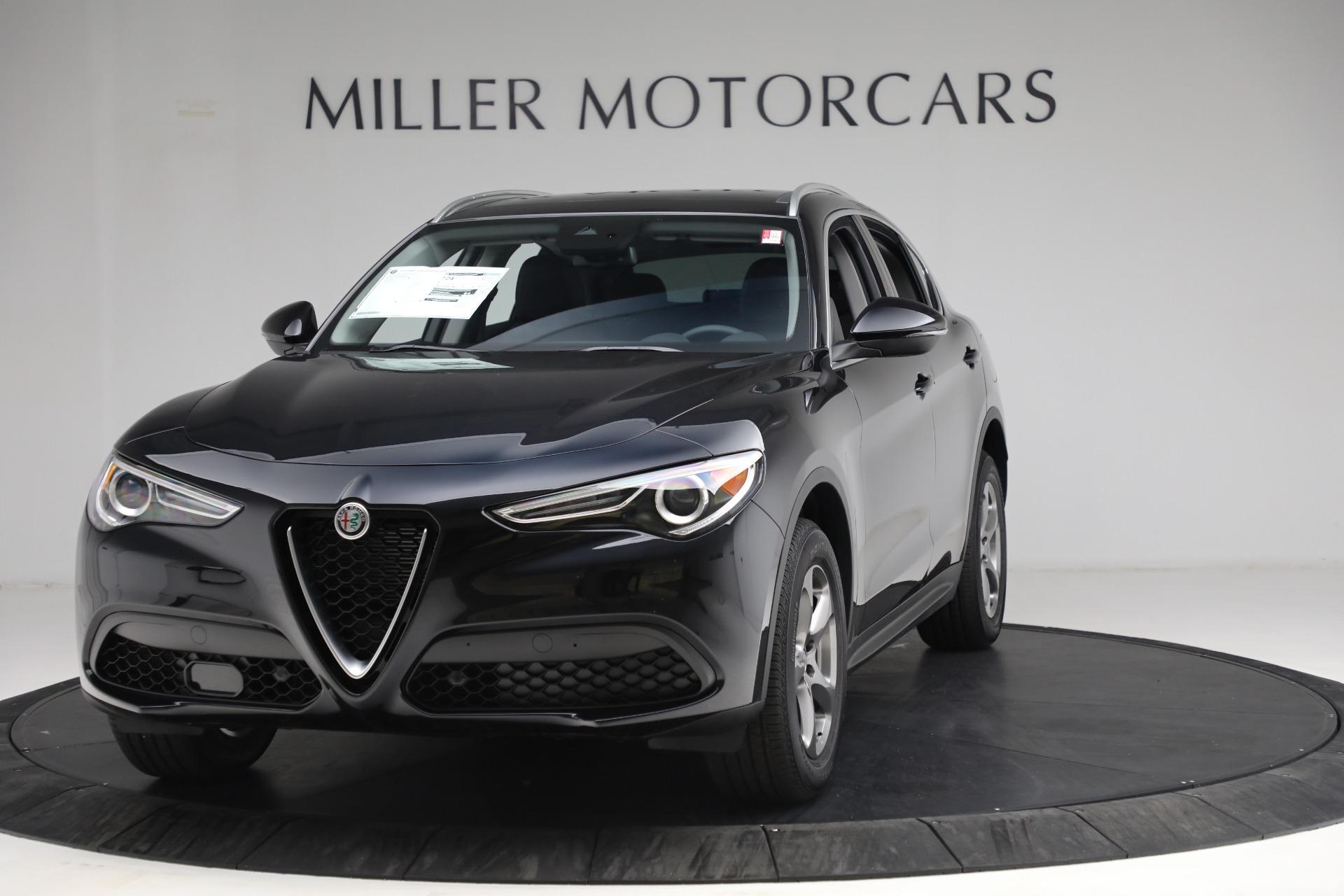 New 2021 Alfa Romeo Stelvio Q4 for sale $49,945 at Alfa Romeo of Westport in Westport CT 06880 1
