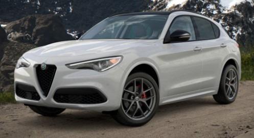 New 2021 Alfa Romeo Stelvio Ti Q4 for sale $53,740 at Alfa Romeo of Westport in Westport CT 06880 1