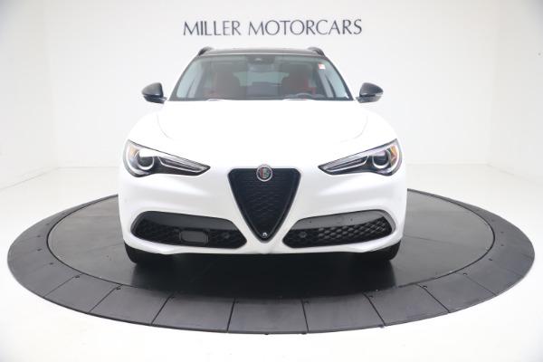 New 2021 Alfa Romeo Stelvio Ti Q4 for sale $53,740 at Alfa Romeo of Westport in Westport CT 06880 13