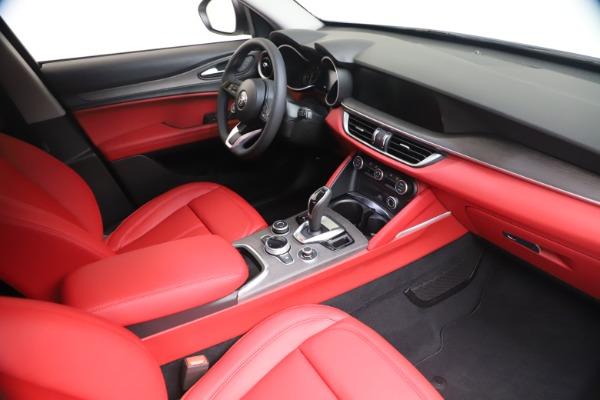 New 2021 Alfa Romeo Stelvio Ti Q4 for sale $53,740 at Alfa Romeo of Westport in Westport CT 06880 19