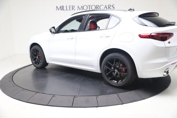 New 2021 Alfa Romeo Stelvio Ti Q4 for sale $53,740 at Alfa Romeo of Westport in Westport CT 06880 4