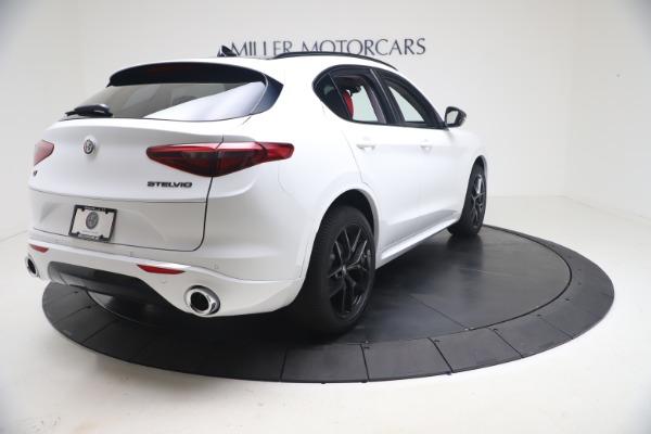 New 2021 Alfa Romeo Stelvio Ti Q4 for sale $53,740 at Alfa Romeo of Westport in Westport CT 06880 8