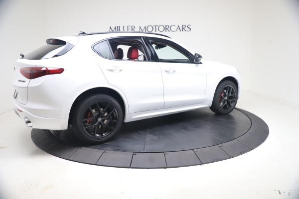 New 2021 Alfa Romeo Stelvio Ti Q4 for sale $53,740 at Alfa Romeo of Westport in Westport CT 06880 9