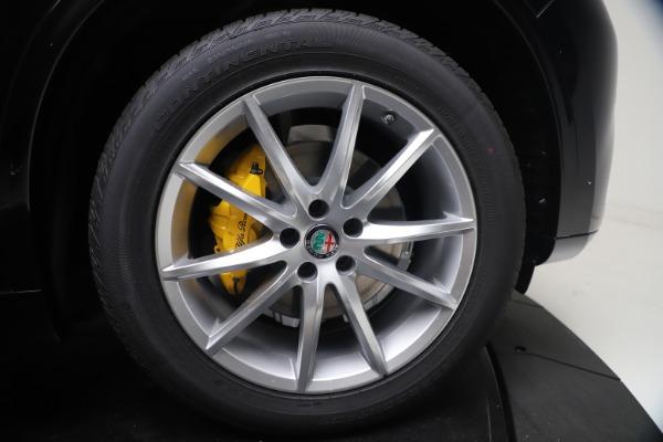 New 2021 Alfa Romeo Stelvio Ti Q4 for sale $54,755 at Alfa Romeo of Westport in Westport CT 06880 13