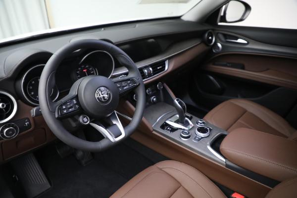 New 2021 Alfa Romeo Stelvio Ti Q4 for sale $54,840 at Alfa Romeo of Westport in Westport CT 06880 13
