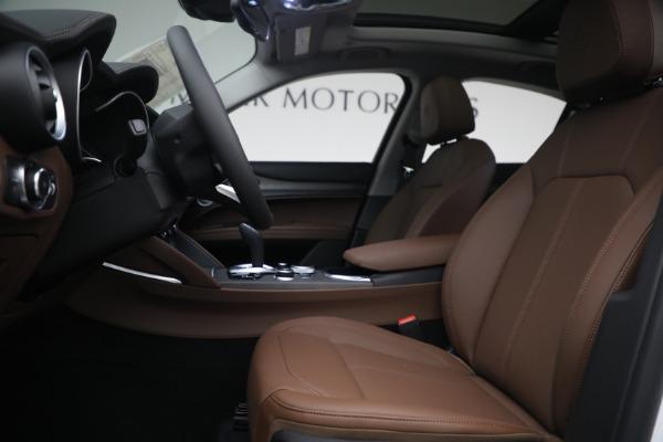 New 2021 Alfa Romeo Stelvio Ti Q4 for sale $54,840 at Alfa Romeo of Westport in Westport CT 06880 14