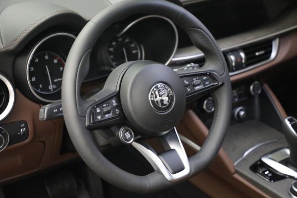 New 2021 Alfa Romeo Stelvio Ti Q4 for sale $54,840 at Alfa Romeo of Westport in Westport CT 06880 17