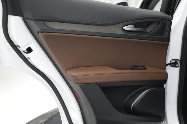 New 2021 Alfa Romeo Stelvio Ti Q4 for sale $54,840 at Alfa Romeo of Westport in Westport CT 06880 26