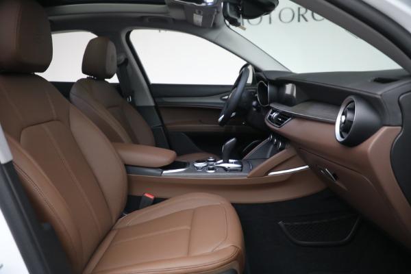 New 2021 Alfa Romeo Stelvio Ti Q4 for sale $54,840 at Alfa Romeo of Westport in Westport CT 06880 28