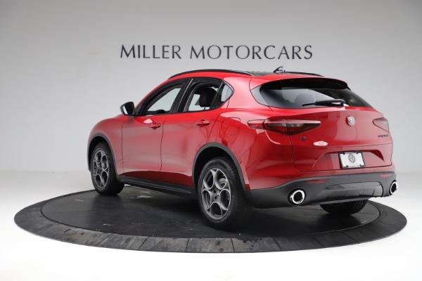 New 2021 Alfa Romeo Stelvio Q4 for sale $50,535 at Alfa Romeo of Westport in Westport CT 06880 6