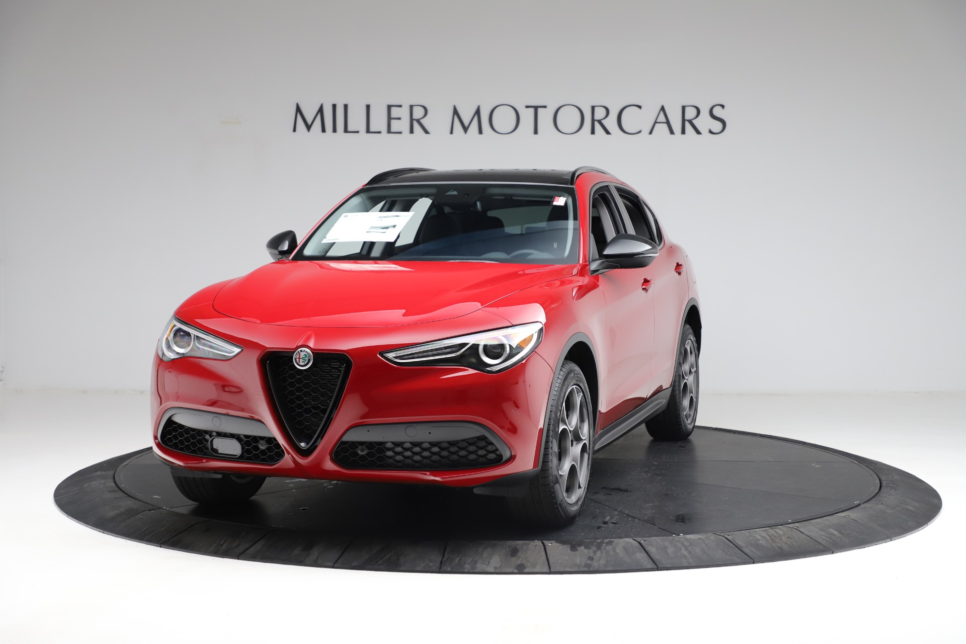 New 2021 Alfa Romeo Stelvio Q4 for sale $50,535 at Alfa Romeo of Westport in Westport CT 06880 1