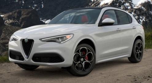 New 2021 Alfa Romeo Stelvio Ti Sport Q4 for sale $54,740 at Alfa Romeo of Westport in Westport CT 06880 1