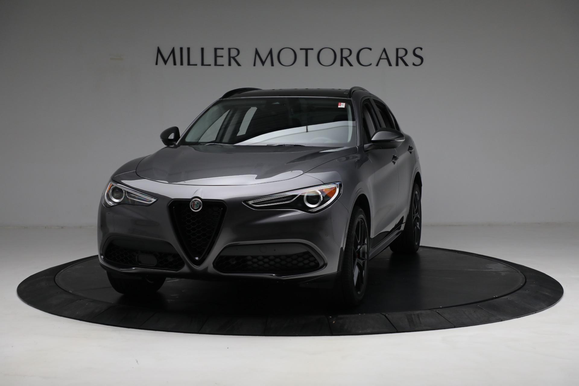 New 2021 Alfa Romeo Stelvio Ti Q4 for sale $52,705 at Alfa Romeo of Westport in Westport CT 06880 1