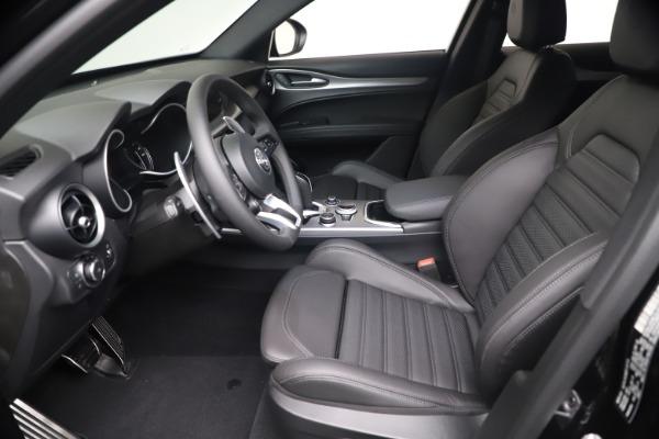 New 2021 Alfa Romeo Stelvio Ti Sport Q4 for sale $56,900 at Alfa Romeo of Westport in Westport CT 06880 14