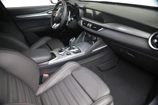 New 2021 Alfa Romeo Stelvio Ti Sport Q4 for sale $56,900 at Alfa Romeo of Westport in Westport CT 06880 18