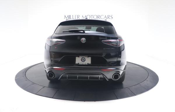New 2021 Alfa Romeo Stelvio Ti Sport Q4 for sale $56,900 at Alfa Romeo of Westport in Westport CT 06880 6