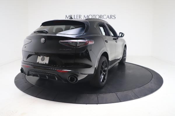 New 2021 Alfa Romeo Stelvio Ti Sport Q4 for sale $56,900 at Alfa Romeo of Westport in Westport CT 06880 7