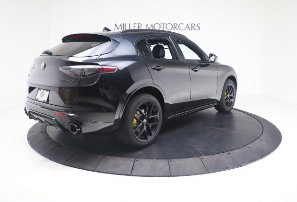 New 2021 Alfa Romeo Stelvio Ti Sport Q4 for sale $56,900 at Alfa Romeo of Westport in Westport CT 06880 8