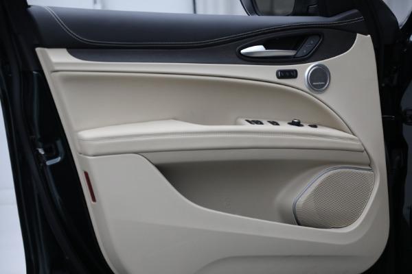 New 2021 Alfa Romeo Stelvio Ti Q4 for sale $55,205 at Alfa Romeo of Westport in Westport CT 06880 17