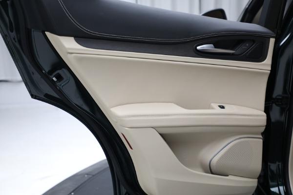New 2021 Alfa Romeo Stelvio Ti Q4 for sale $55,205 at Alfa Romeo of Westport in Westport CT 06880 22