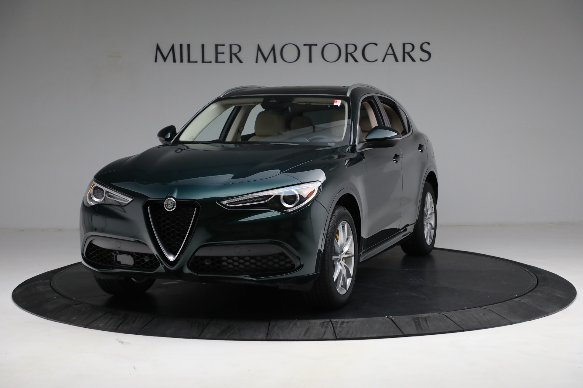 New 2021 Alfa Romeo Stelvio Ti Q4 for sale $55,205 at Alfa Romeo of Westport in Westport CT 06880 1