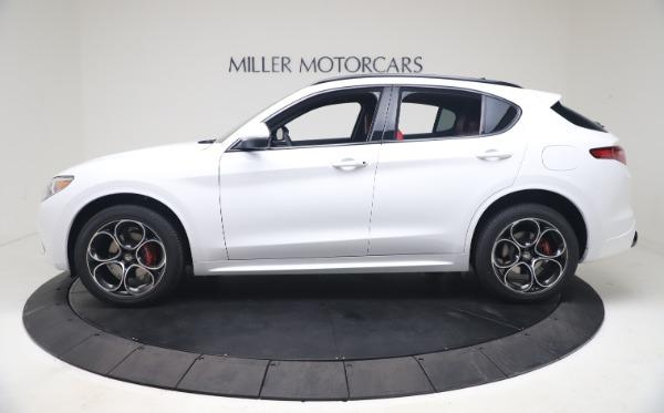New 2021 Alfa Romeo Stelvio Ti Sport Q4 for sale Sold at Alfa Romeo of Westport in Westport CT 06880 3