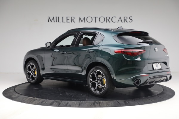 New 2021 Alfa Romeo Stelvio Ti Sport Q4 for sale Sold at Alfa Romeo of Westport in Westport CT 06880 4