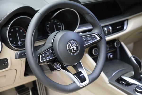 New 2021 Alfa Romeo Stelvio Ti Q4 for sale $57,400 at Alfa Romeo of Westport in Westport CT 06880 19
