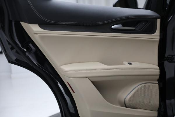 New 2021 Alfa Romeo Stelvio Ti Q4 for sale $57,400 at Alfa Romeo of Westport in Westport CT 06880 24