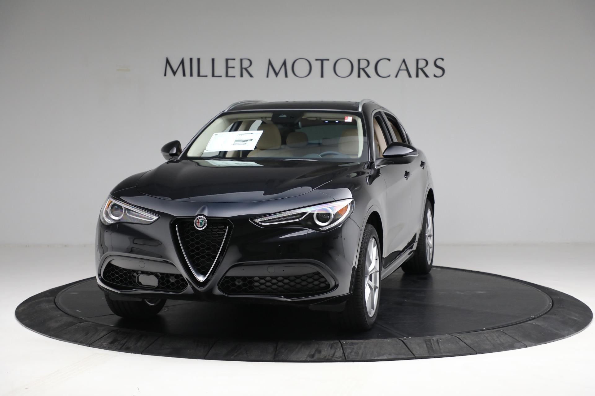 New 2021 Alfa Romeo Stelvio Ti Q4 for sale $57,400 at Alfa Romeo of Westport in Westport CT 06880 1