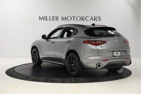 New 2021 Alfa Romeo Stelvio Ti Q4 for sale $54,400 at Alfa Romeo of Westport in Westport CT 06880 5