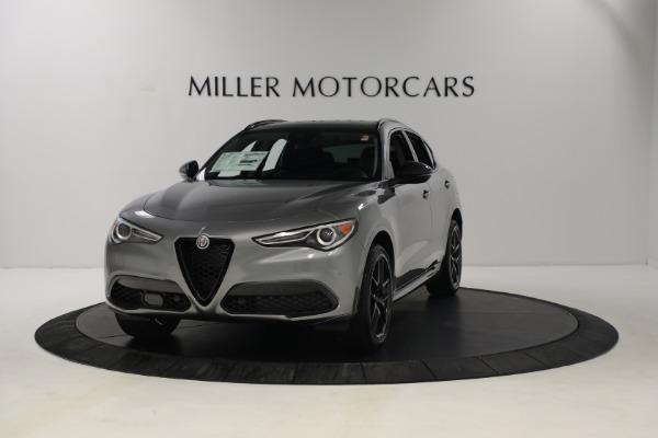 New 2021 Alfa Romeo Stelvio Ti Q4 for sale $54,400 at Alfa Romeo of Westport in Westport CT 06880 1