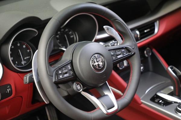 New 2021 Alfa Romeo Stelvio Ti Sport Q4 for sale Sold at Alfa Romeo of Westport in Westport CT 06880 17